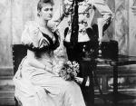 Император Николай II и принцесса Алиса Гессен-Дармштадтская (Александра Федоровна). Россия, ноябрь 1894