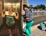 Смешные фото: когда одежда становится настоящей маскировкой в окружающей среде
