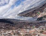 Панорамный снимок города превратился в апокалипсис