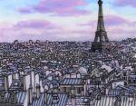 1.Париж в фиолетовых тонах, Франция