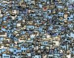 4. Синий город Шефшауэн, Марокко.