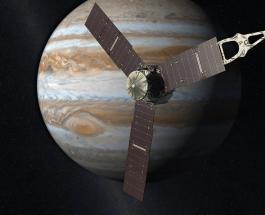 Зонд Juno пролетит над Большим красным пятном Юпитера