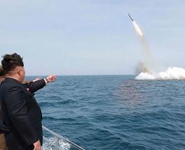 КНДР запустила баллистическую ракету в сторону Японии