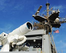 США провели испытания лазерного оружия в Персидском заливе