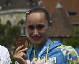 Украинка Анна Волошина завоевала третью медаль чемпионата мира по водным видам спорта