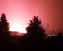 Видео НЛО: в Будапеште очевидцы решили что видели крушение объекта