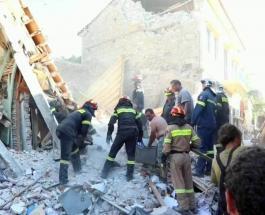Землетрясение у берегов Греции и Турции: опубликовано видео с места событий