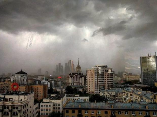Отсупергрозы в российской столице пострадали 16 человек