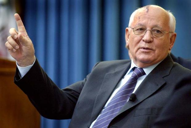 В столицеРФ открыли монумент Горбачеву иРейгану