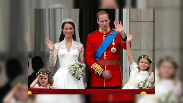 Принц Уильям и Кейт Миддлтон. Великобритания, апрель 2011