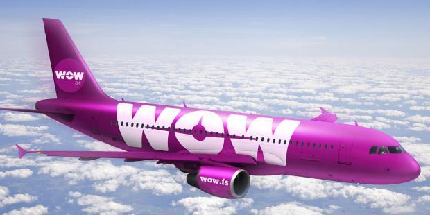 Лоукостером WOW air анонсированы бесплатные авиабилеты для пассажиров