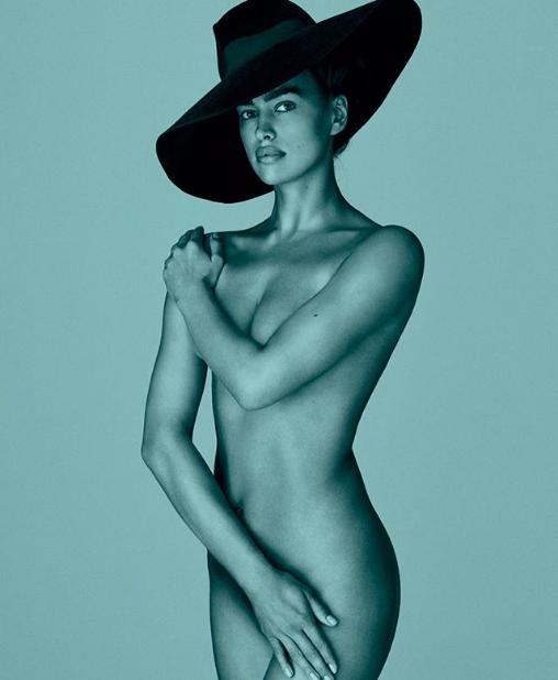Ирина Шейк снялась навсе 100% обнаженной в новейшей фотосессии