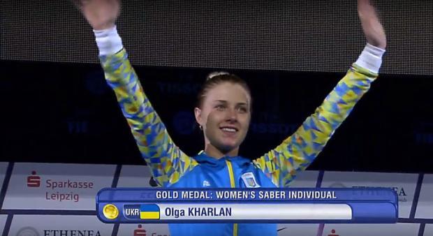 Украинка Харлан стала чемпионкой мира пофехтованию насаблях