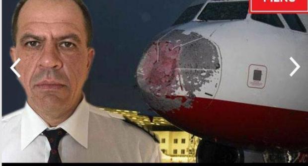 Град изрешетил Boeing вовремя посадки вСтамбуле