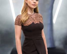 Тина Кароль блеснула в эффектном наряде на конкурсе красоты