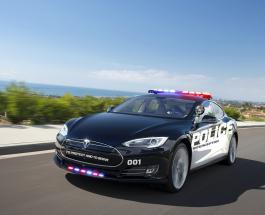 Tesla Model S попробуют в качестве полицейского автомобиля