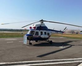 Первый вертолет украинского производства представлен в Запорожье
