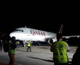 Qatar Airways теперь в Украине: ведущая авиакомпания мира осуществила первый рейс в столицу