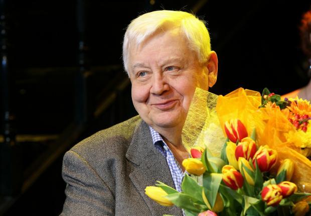 Олег Табаков отмечает день рождения