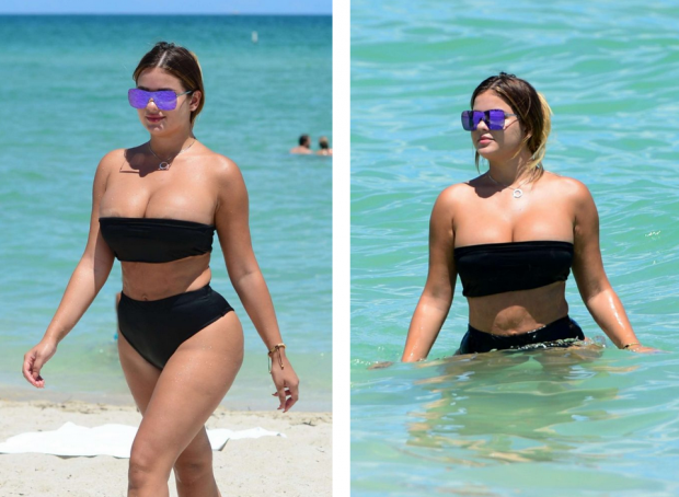 Раскрепощенные девушки на пляже 7