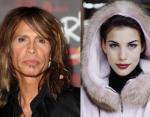 Лидер группы Aerosmith Стивен Тайлер и его дочь Лив