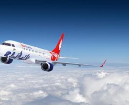 Новый азербайджанский лоукостер Buta Airways совершил первый вылет из Киева