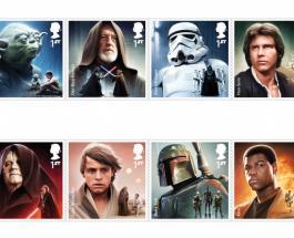 """""""Звездные войны"""" изобразят на почтовых марках"""