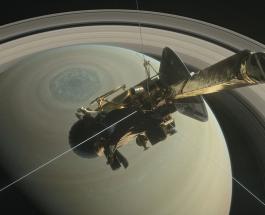Космический аппарат Кассини сделал прощальный пролет над Титаном перед окончанием миссии