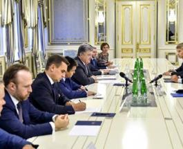Петр Порошенко и Дэвид Липтон рассмотрели перспективу предоставления транша Украине