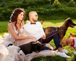 Ксения Красавчик: украинская модель показала откровенные свадебные фотографии и округлившийся животик
