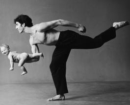 Отцы и дети: трогательные фото пап и их точных маленьких копий