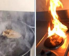 Забавные фото: наглядный пример того как не надо готовить