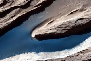 NASA представило новые снимки поверхности Марса