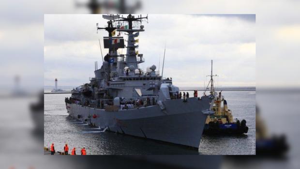 эсминец ВМС Италии