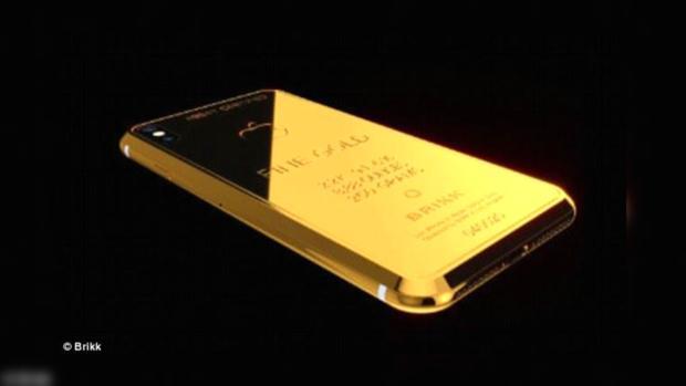 В реализацию поступит iPhone Xиззолота за $7,4 тыс