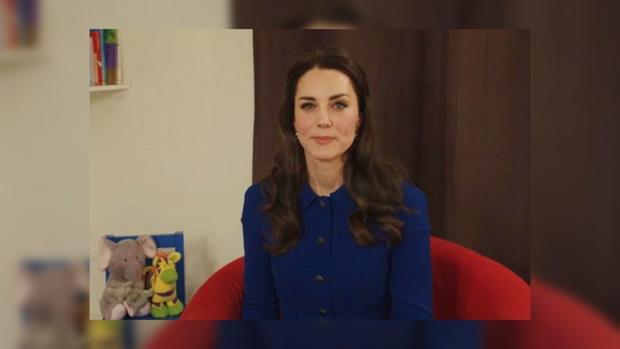 Беременная Кейт Миддлтон снялась ввидео опсихическом здоровье детей
