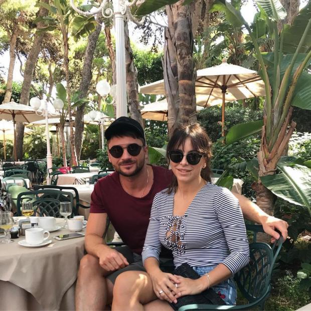 Ани Лорак отдыхает вместе сСергеем Лазаревым наострове Сардиния