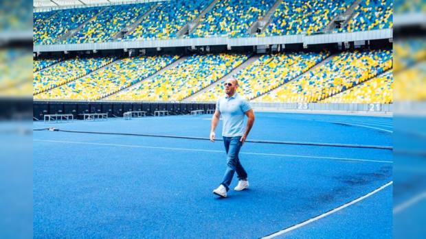 Звезда «Перевозчика» Джейсон Стэтхэм приехал насъемки вукраинскую столицу