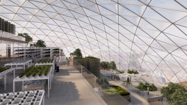 ВДубае построят город для будущих граждан Марса
