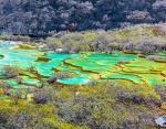 Провинция Сычуань, Китай — «сложносочиненные» озера