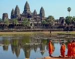 Самый крупный храмовый комплекс на Земле Ангкор-Ват, Камбоджа