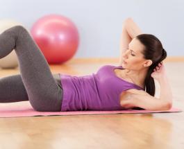 Гимнастика для всех: ТОП-3 упражнения для идеального пресса