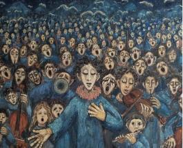 Впечатляющие картины написанные людьми с психопаталогиями