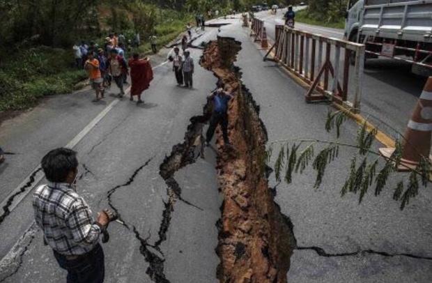 землетрясение разлом
