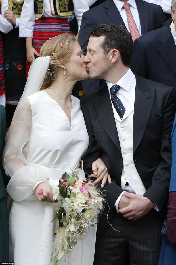 принц Филипп и Даница Маринкович