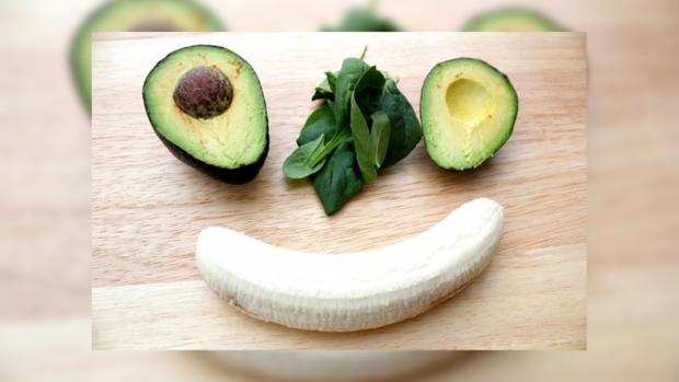 банан авокадо