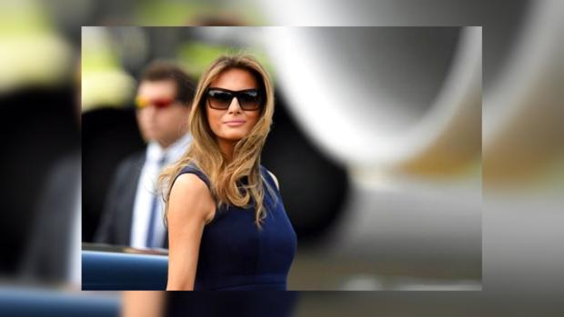 Меланью Трамп раскритиковали в социальных сетях  из-за очень  откровенного наряда