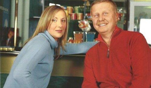 Яковлева и муж