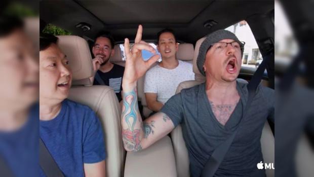 Группа Linkin Park вернулась кработе после смерти своего солиста