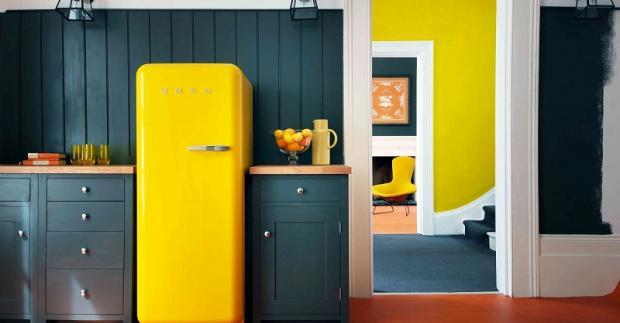 В какой цвет покрасить холодильник